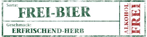 Kachelbild Sortenlabel Frei-Bier