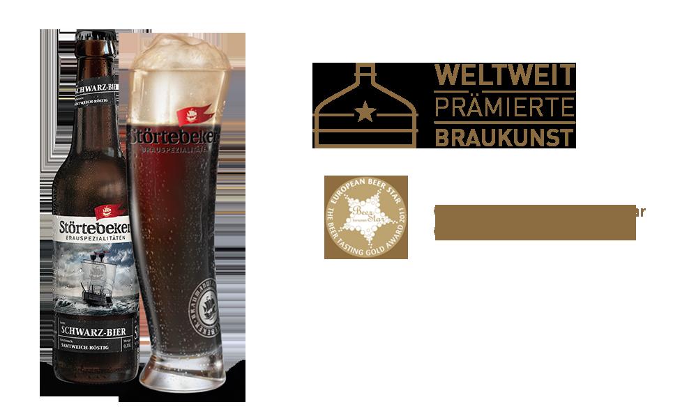 Frame Bild Schwarz-Bier
