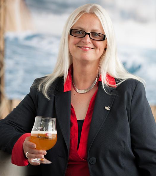 Biersommelière Silke van Ackeren