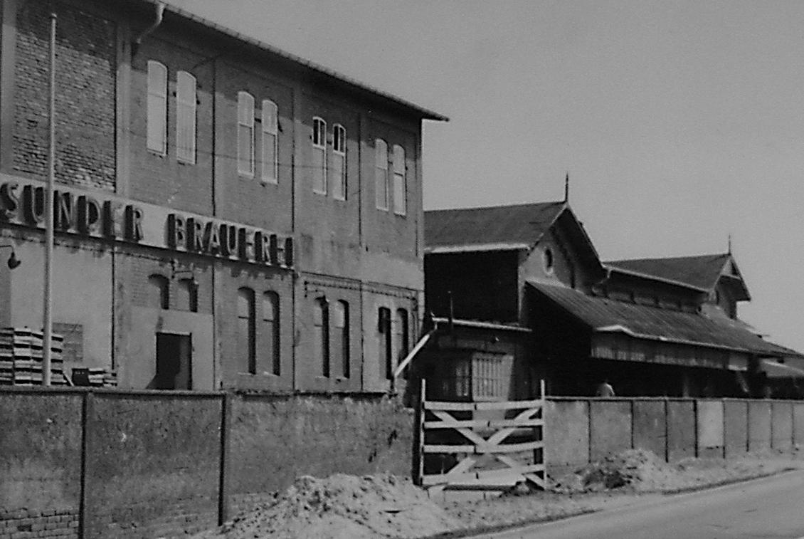 Die Stralsunder Brauerei zur DDR-Zeit.