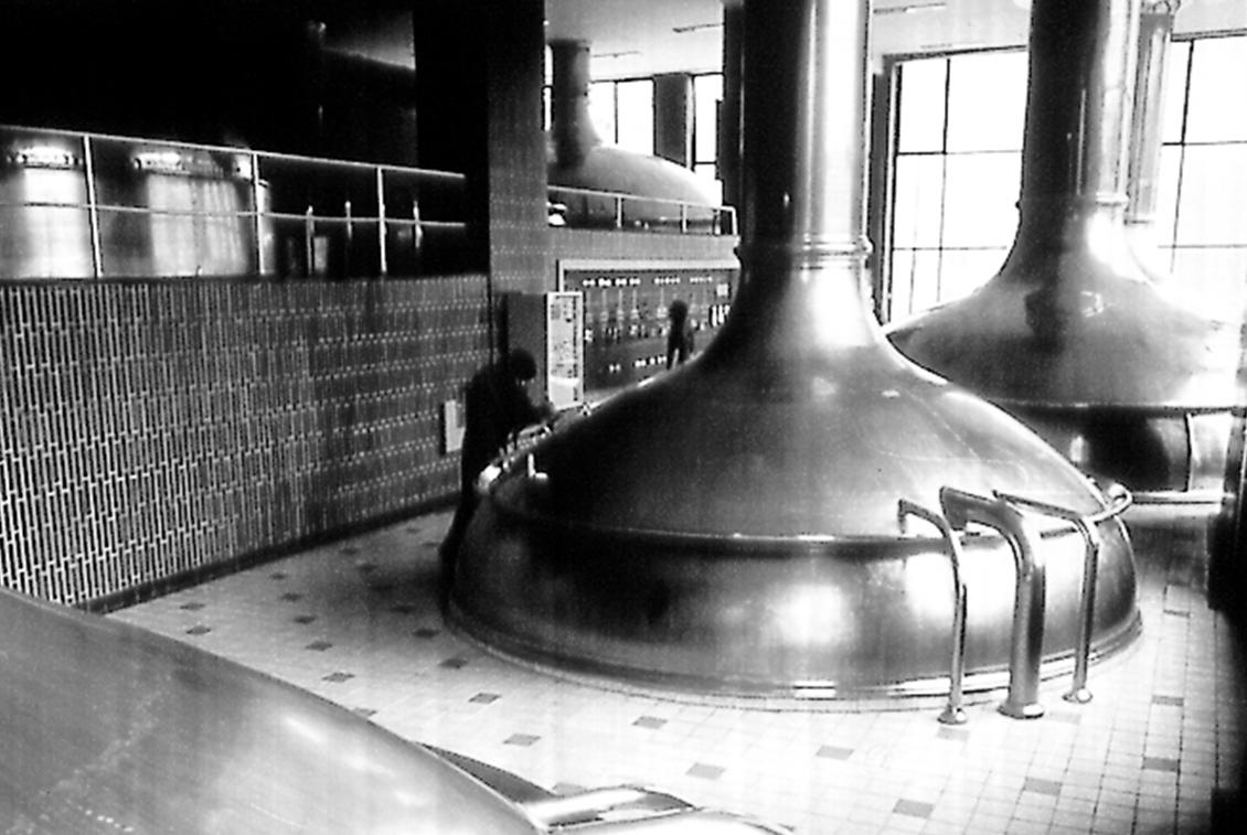 Das alte Sudhaus der damaligen Stralsunder Brauerei.