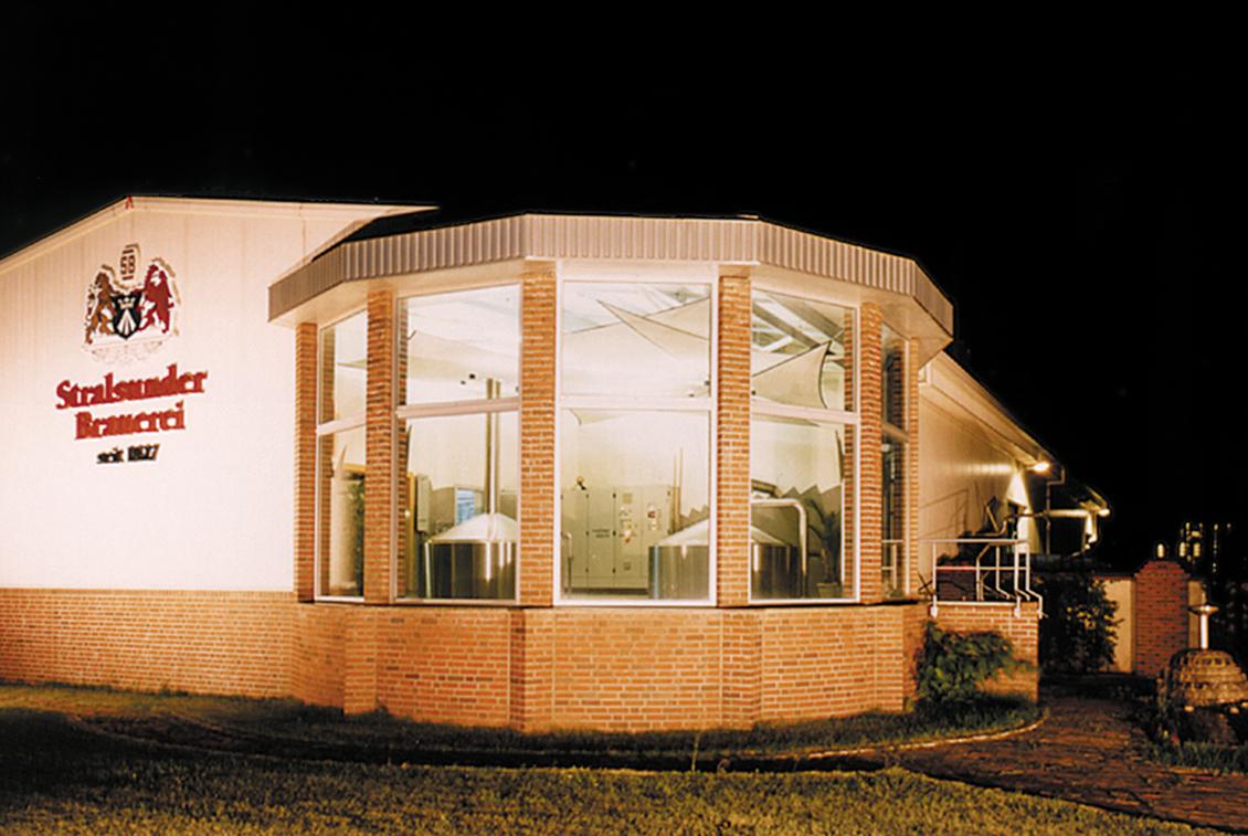 Mitte der 1990er Jahre zog das Sudhaus um in die neuen Produktionshallen.