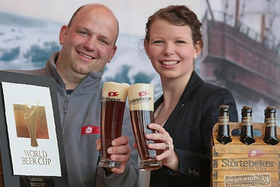 Weltmeister-Bier Roggen-Weizen
