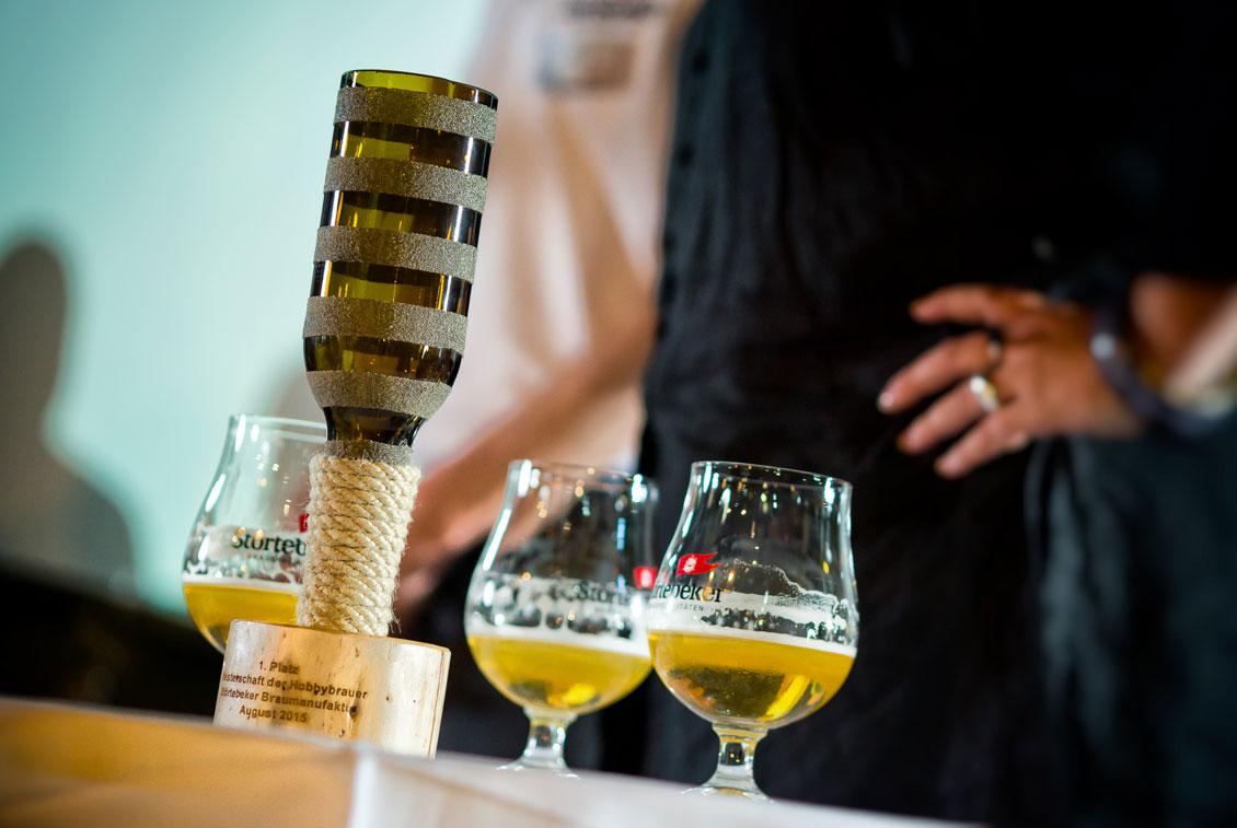 Am 4. Störtebeker Bierfestival nahmen knapp 15 Hobbybrauer teil.