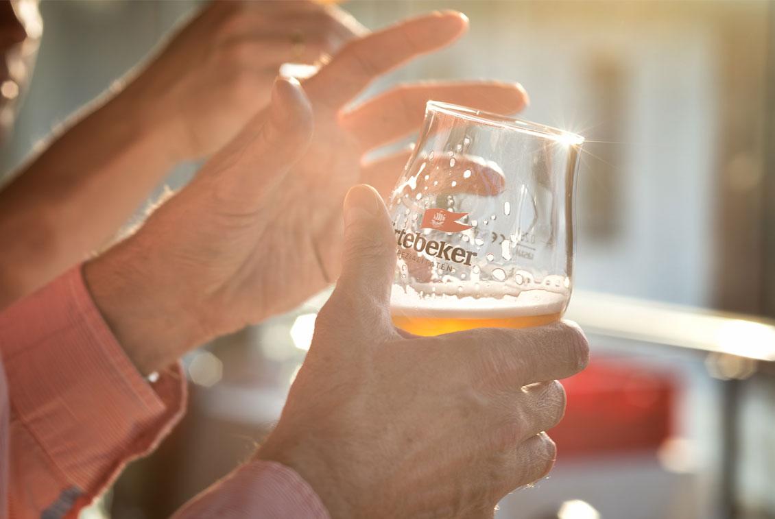 Eine sechsköpfige Jury verkostete die verschiedenen Biere der Hobbybrauer.