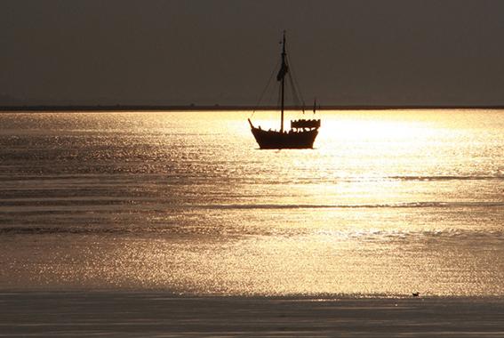 Eine maritime Attraktion des Wismarer Hafens und der Ostseeküste.