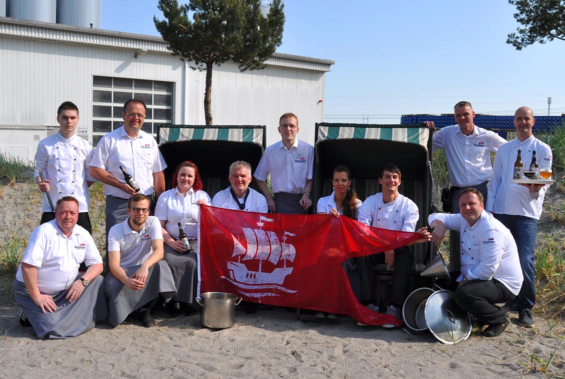 Unser Team vom Störtebeker Braugasthaus Stralsund.