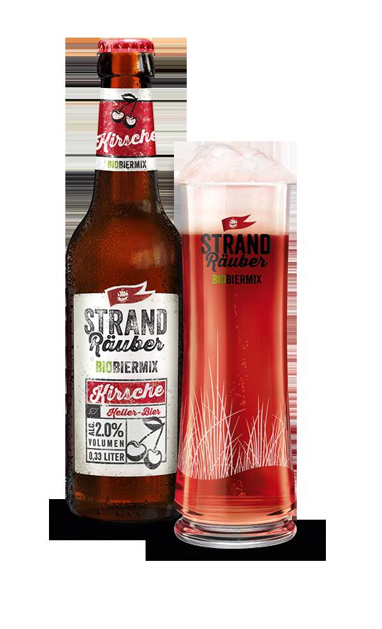 Strandräuber Kirsche Keller-Bier