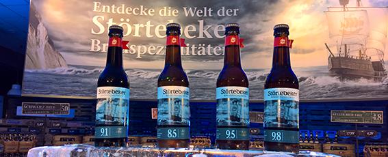 Neu im Sortiment: Eisbock-Biere
