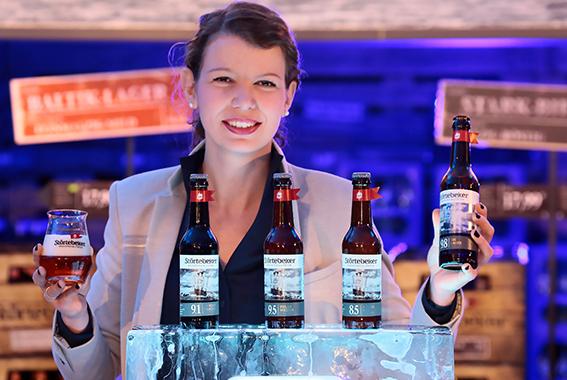 Störtebeker Eisbock-Biere