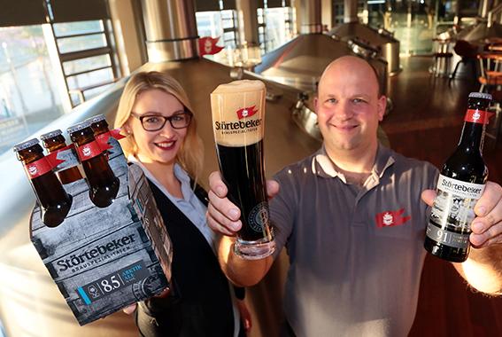 Die neuen Störtebeker Eisbock-Biere erfreuen sich einer großen Nachfrage.
