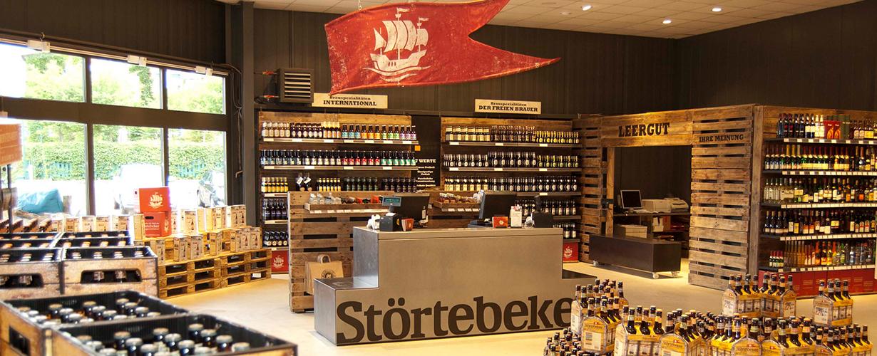 Störtebeker brewery's market