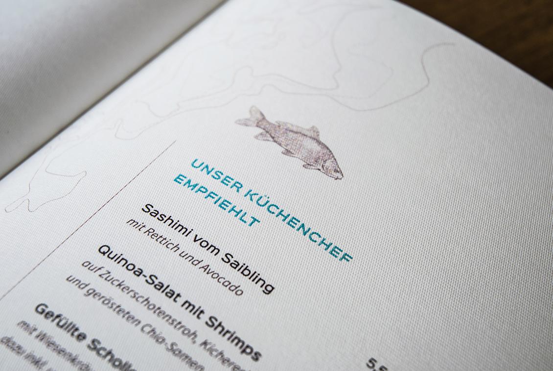Regionaler Fisch wie der Müritzer Saibling stehen im Fokus von Fischers Küche.