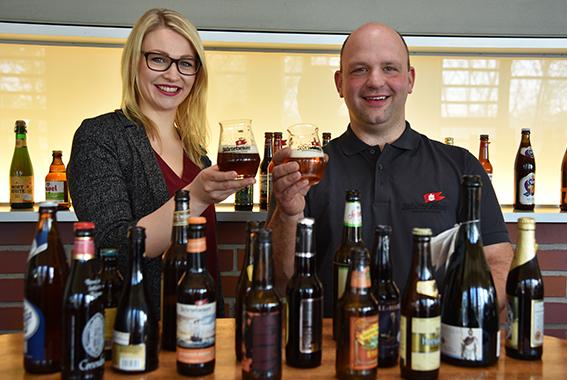 Zwei Störtebeker Mitarbeiter qualifizierten sich für die Weltmeisterschaft der Biersommeliers.
