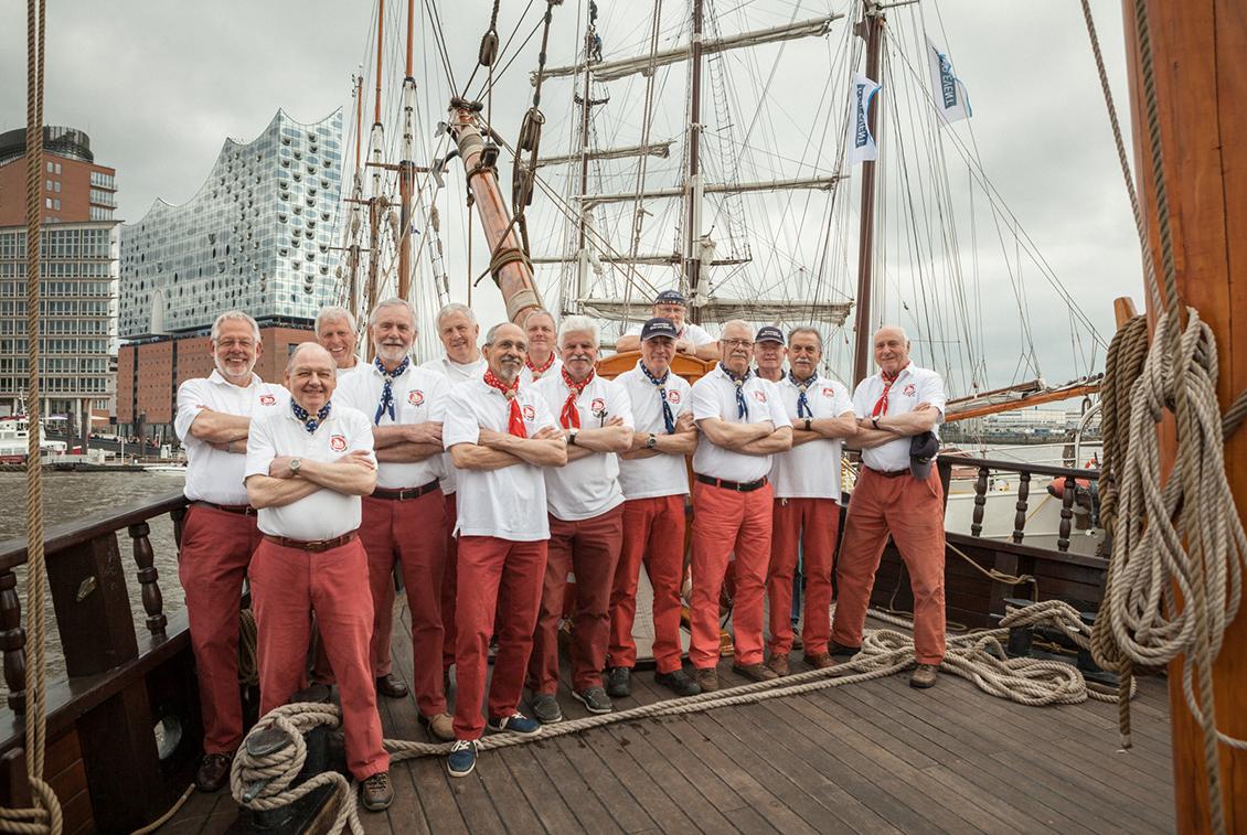 Die Crew der Kraweel