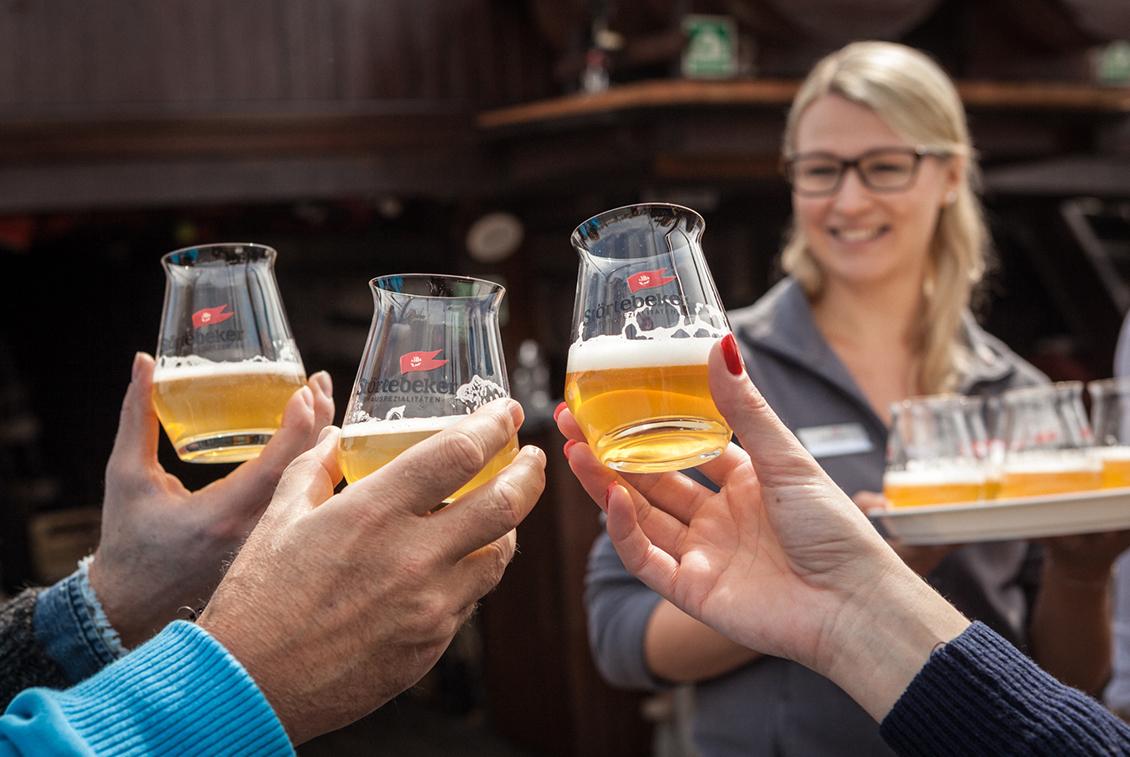 Ausfahrt mit Bier-Tasting