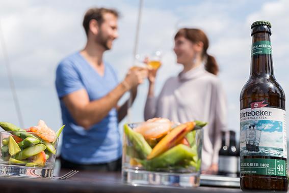 Serviert werden 5 Gänge mit passenden Bierspezialitäten.
