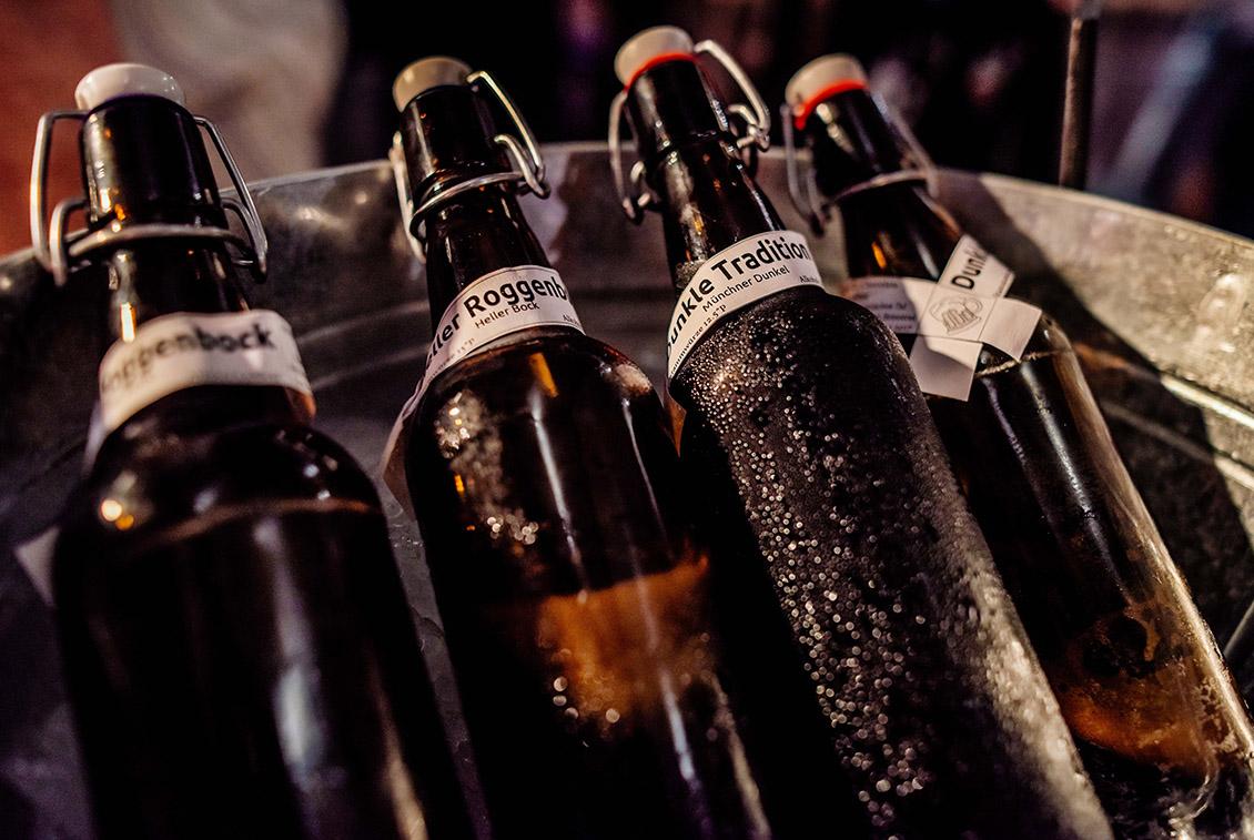 Bei insgesamt über 150 verschiedenen Bieren war für jeden Geschmack etwas dabei.