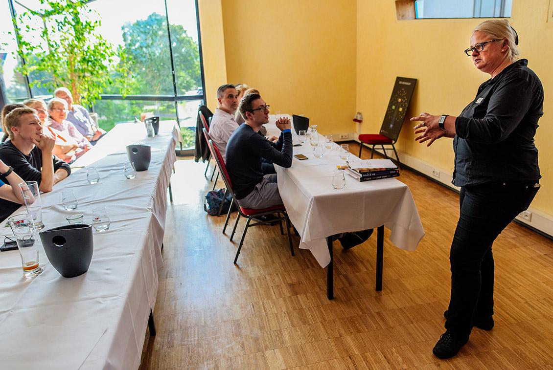 In drei Seminaren konnten die Besucher noch mehr über Bier erfahren.
