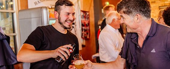 Hobbybrauer aus ganz Deutschland präsentierten ihre kreativen Biere.