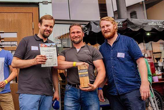Gewinner vom Publikumspreis: Tobias Kandler