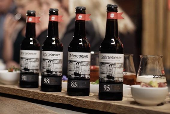 Die Eisbockbiere sind wahre Genussbiere mit innovativem Design.