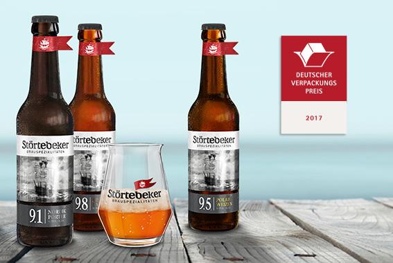 Mit der Auszeichnung qualifiziert sich die Braumanufaktur für den World Star for Packaging.