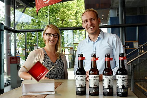 Sieger beim Deutschen Verpackungspreis: Die Eisbock-Biere.