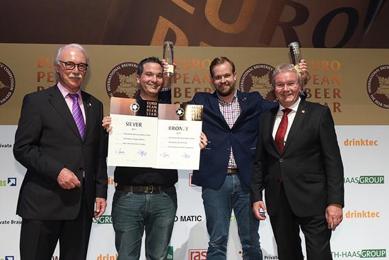 Preisverleihung European Beer Star 2017