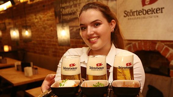 Bier-Tasting im scheels