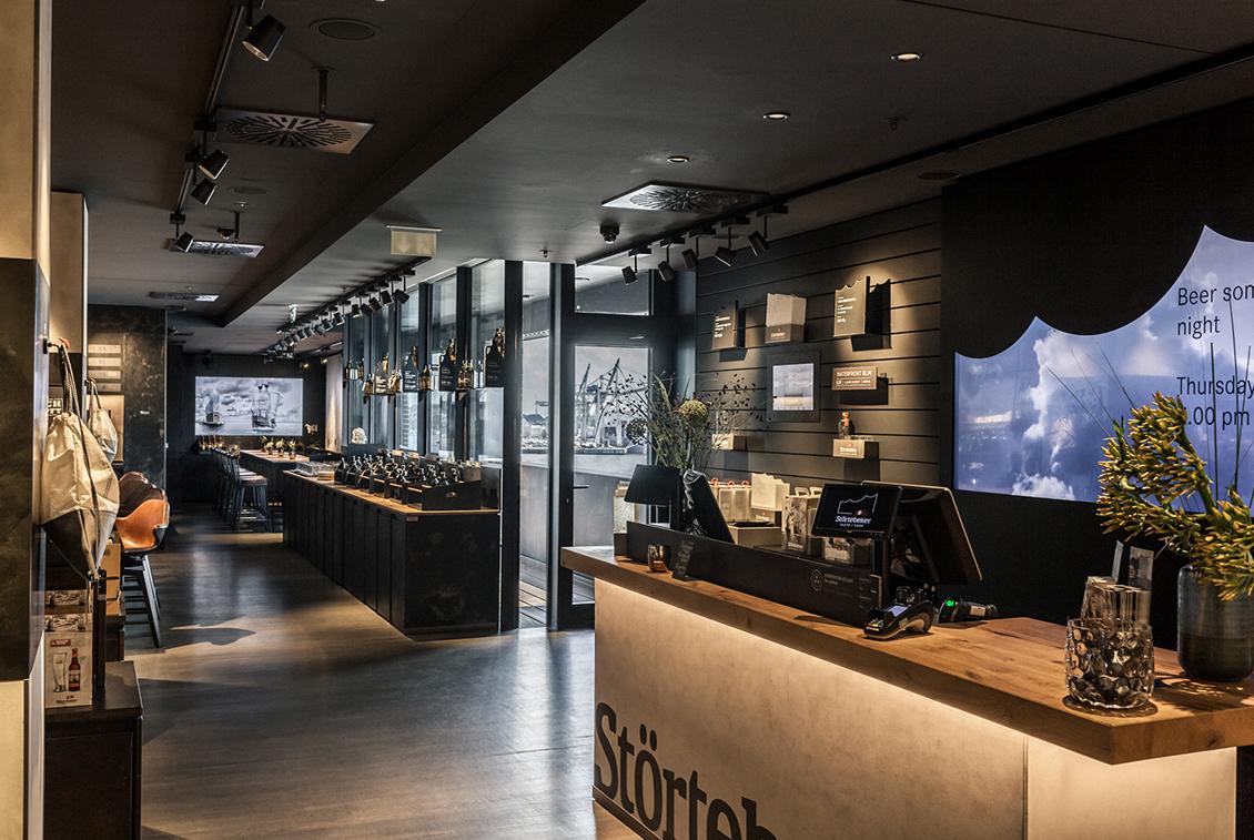 Das Taste & Shop in der 6. Etage