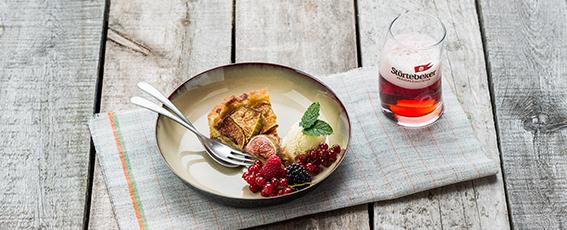 Dessert: Pflaumen-Crumble