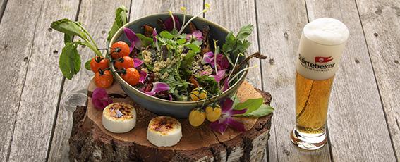 Unsere Empfehlung zum Frei-Bier: Quinoa-Gemüsesalat