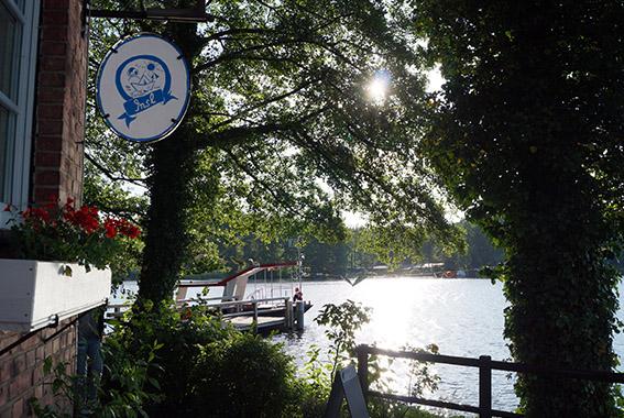 Per Wasser erreichbar: Insl Kyritz