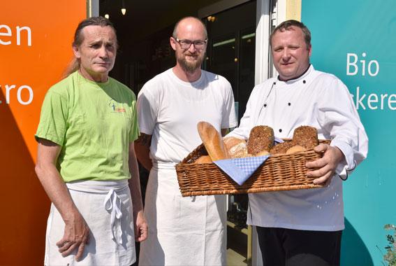 Bereits seit 8 Jahren kommt das Brot für das Störtebeker Braugasthaus aus der Bäckerei des Insel e.V.