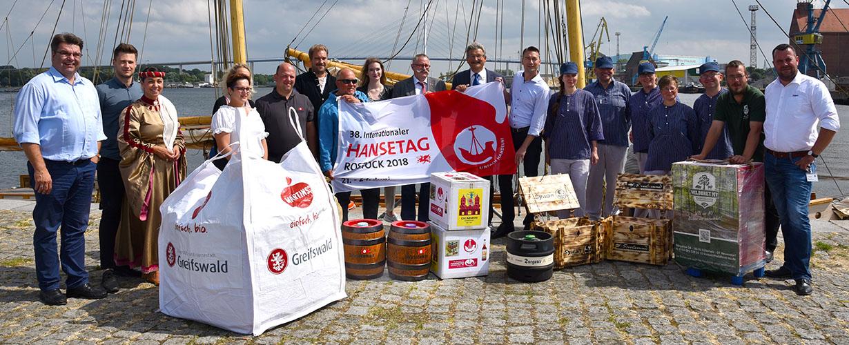 Störtebeker Brauspezialitäten für den Hansetag in Rostock