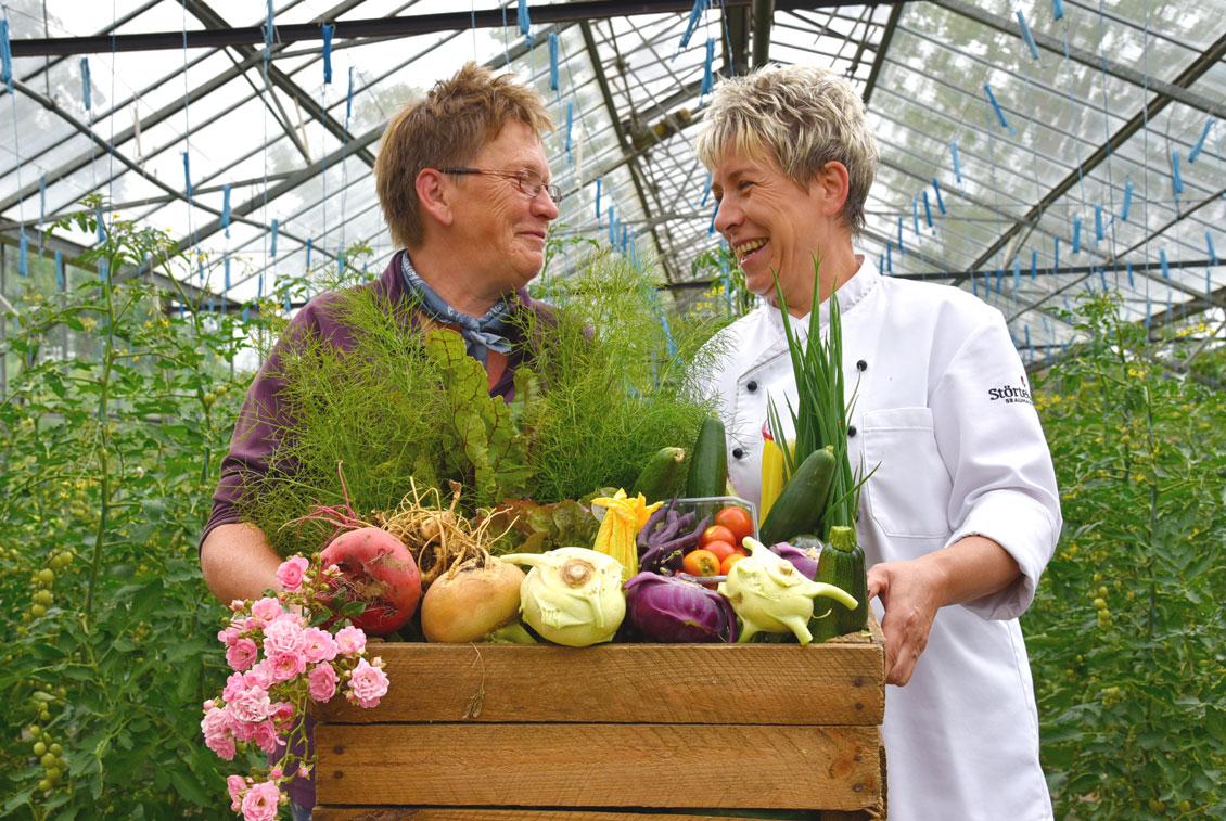 Auch das Störtebeker Braugasthaus bekommt sein Gemüse vom Gut Rosengarten.