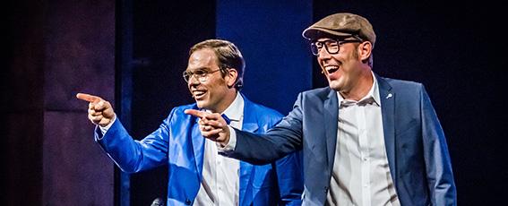 Comedy mit Baumann und Clausen