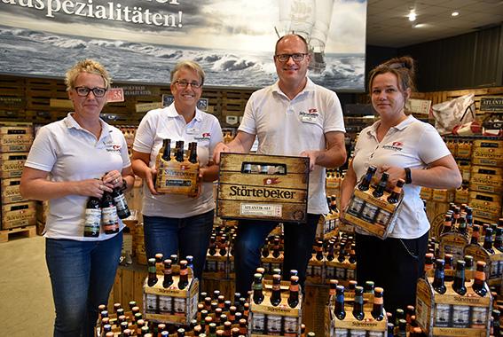 Nur noch Mehrweg-Pfandflaschen im Störtebeker Brauereimarkt