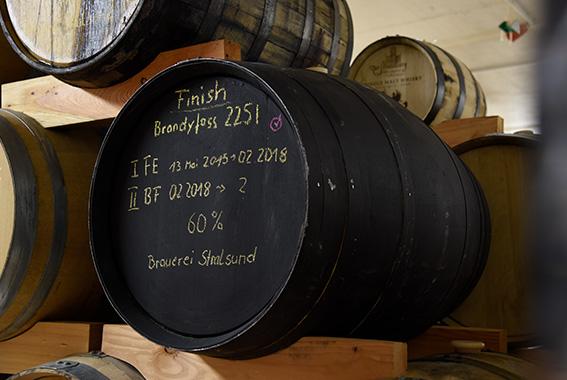 Warten auf Nachschub: Störtebeker Single Malt Whisky