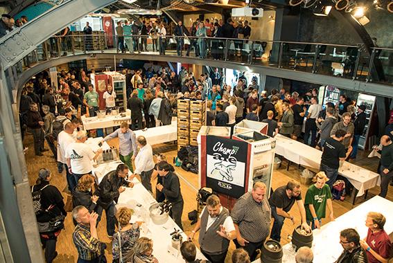 Insgesamt 1300 Bierinteressierte besuchten das Festival.