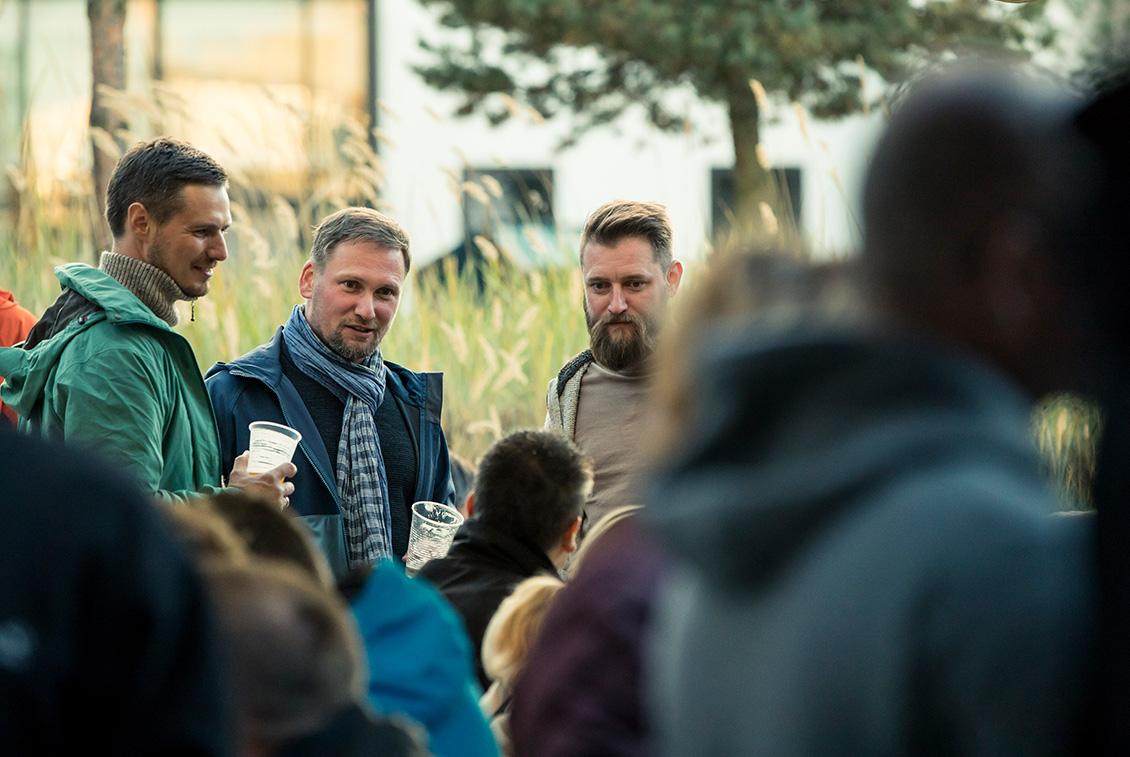 Am Vorabend der Deutschen Meisterschaft der Hobbybrauer fand ein Get Together mit Hobbybrauern, Ausstellern und Organisatoren des Festivals statt.