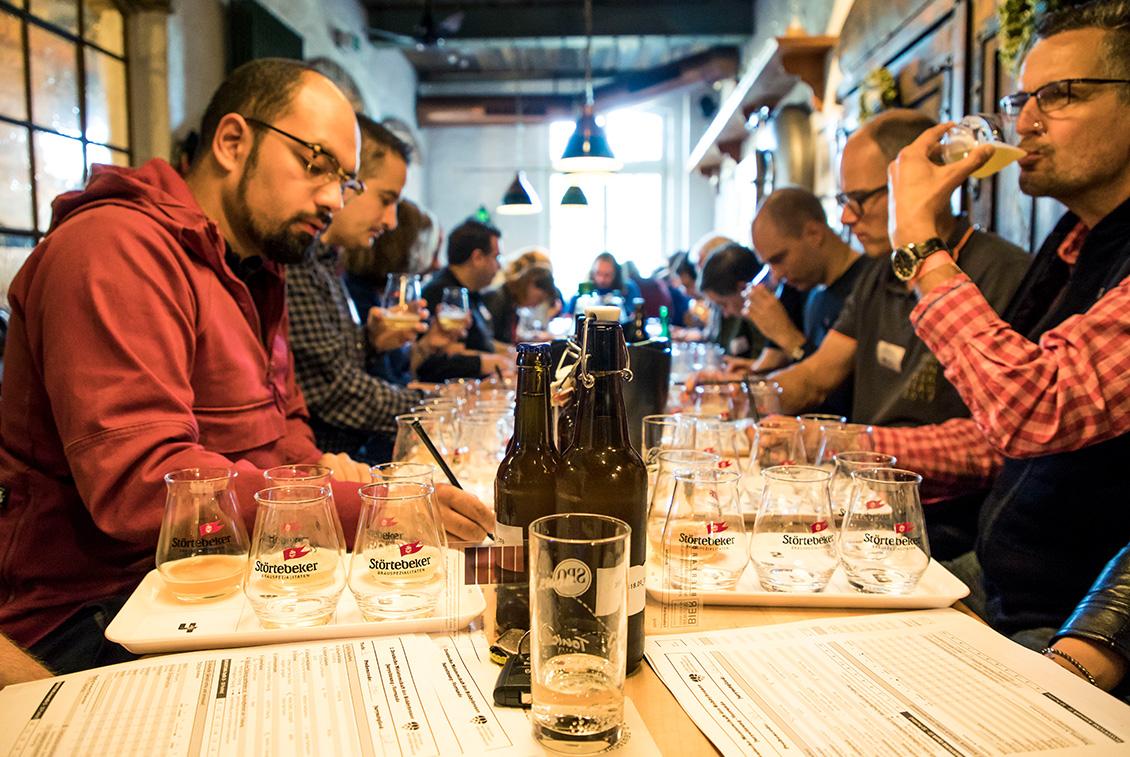 Die Expertenjury war mit Braumeistern, Biersommeliers und Getränketechnologen hochkarätig besetzt.