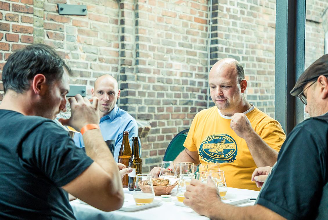 In der Finalrunde verkostete die Jury vier Biere und kürte den neuen Deutschen Meister.