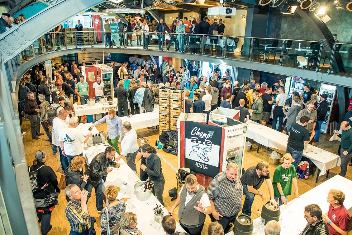 Besucherrekord: Fast doppelt soviele Bierinteressierte kamen zur 2. Auflage der Deutschen Meisterschaft der Hobbybrauer.