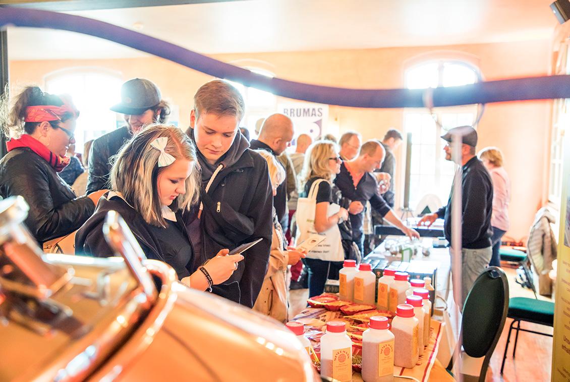 Neu war in diesem Jahr die Ausstellungsfläche der Home & Craft by drinktec, auf der sich die Besucher über das Thema Heim- und Hobbybrauen informieren konnten.