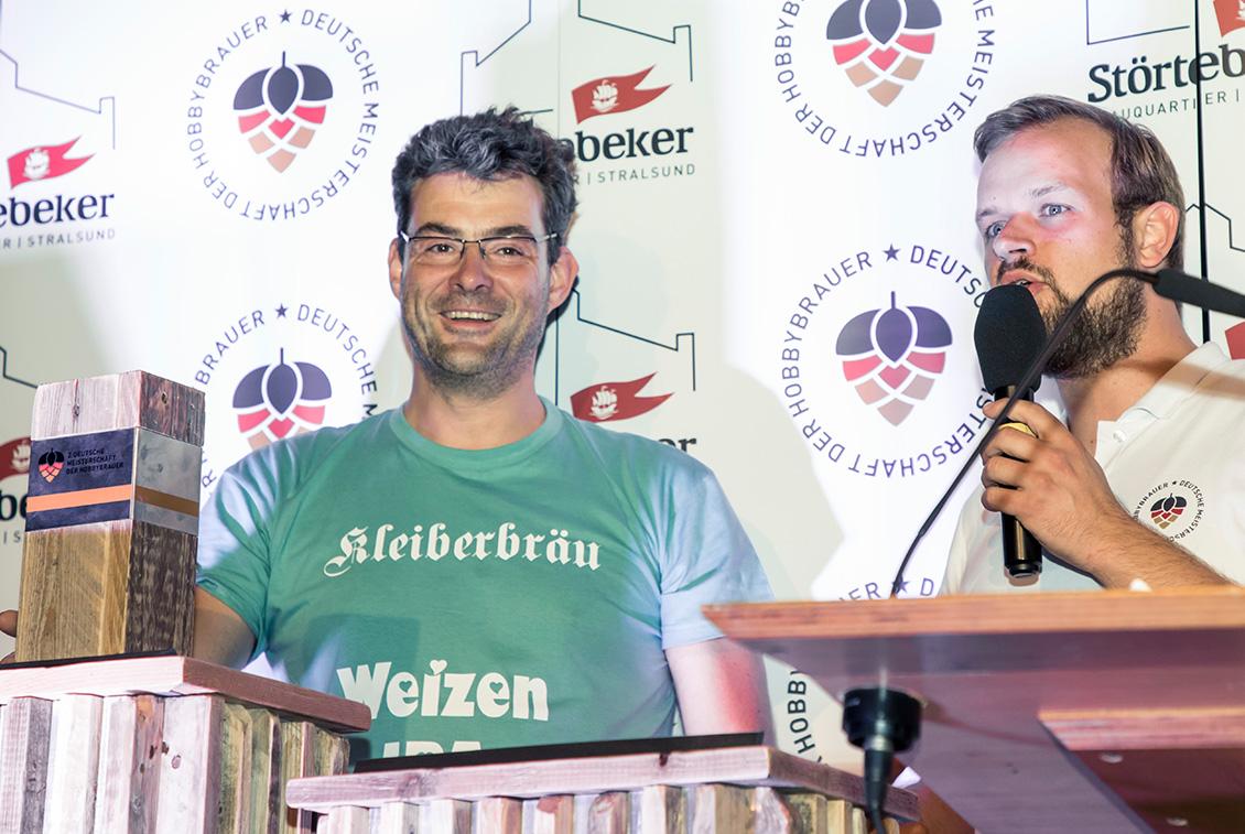 Um 19:30 Uhr stand fest: Markus Krenkler aus Niedersachsen ist neuer Deutscher Meister.