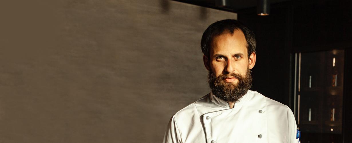Küchenchef Sebastian Brugger