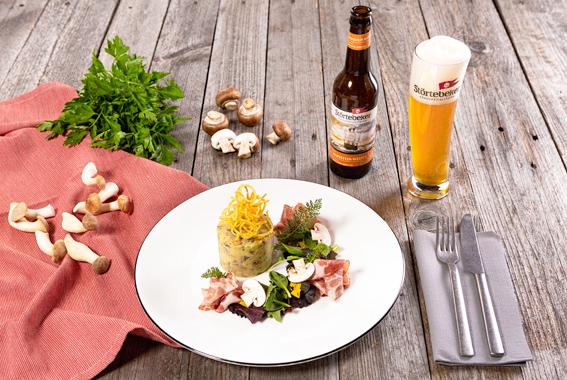 Beitrag_Unsere Empfehlung im August: Kartoffel-Pilz-Terrine