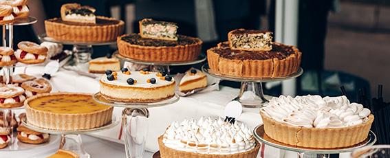 Feinste Torten und Kuchen im Störtebeker Brauquartier